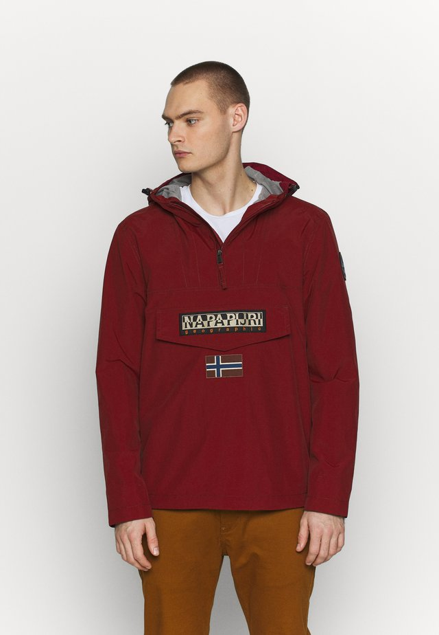 RAINFOREST SUM - Windbreaker - cherry bordeaux