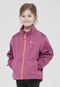 ZIGZAG - Waterproof jacket - 4140 damson - 0