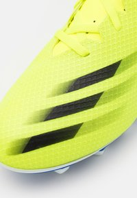 adidas Performance - X GHOSTED.4 FXG - Moulded stud football boots - solar yellow/core black/royal blue - 5