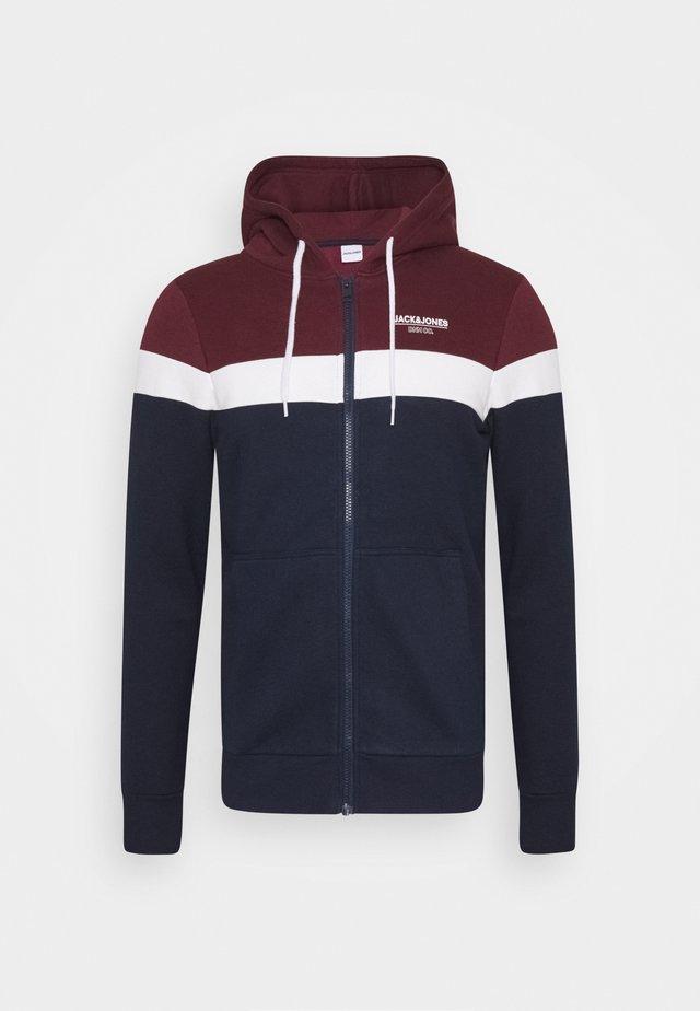JJSHAKER ZIP HOOD - Zip-up hoodie - port royale