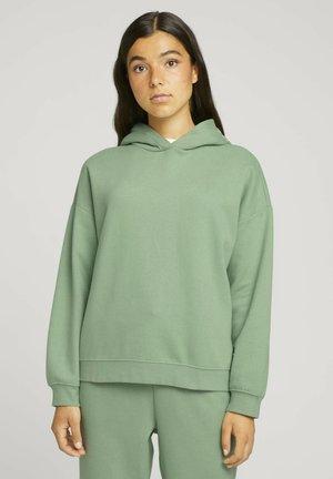 Hoodie - light mint green