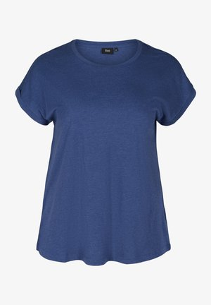 Basic T-shirt - twilight blue mel.