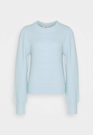 QAMELIA - Strikpullover /Striktrøjer - blue light