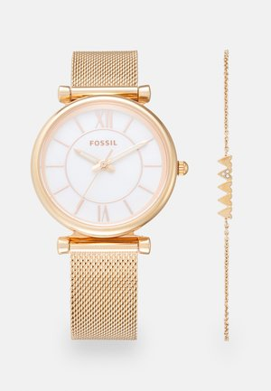 CARLIE SET - Horloge - rose gold-coloured