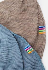 Joha - SCARF 2 PACK - Scarf - light blue/mottled light brown - 2