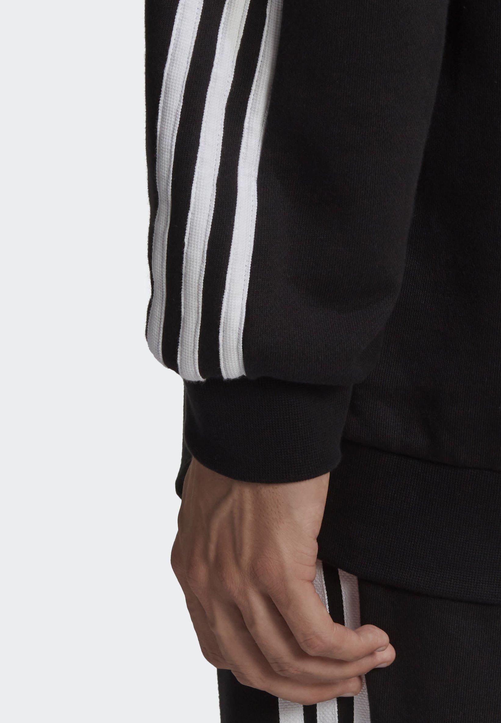 Adidas Originals Big Trefoil Abstract Hoodie - Bluza Z Kapturem Black