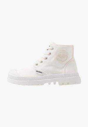 PAMPA - Šněrovací kotníkové boty - star white