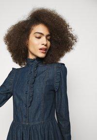 See by Chloé - Denimové šaty - denim blue - 4