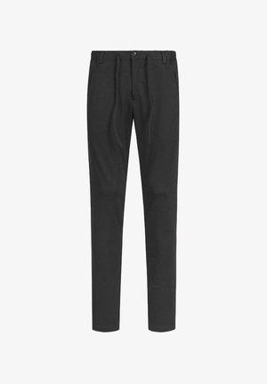 DISPARTAKUS SLIM - Trousers - schwarz