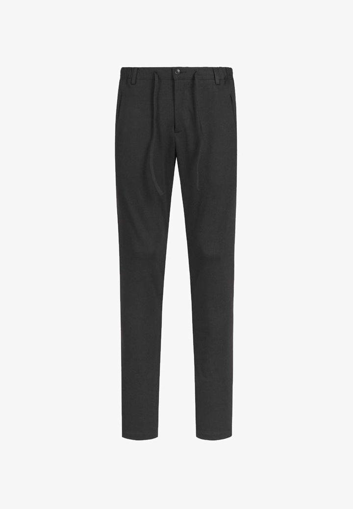 Zuitable - DISPARTAKUS SLIM - Trousers - schwarz