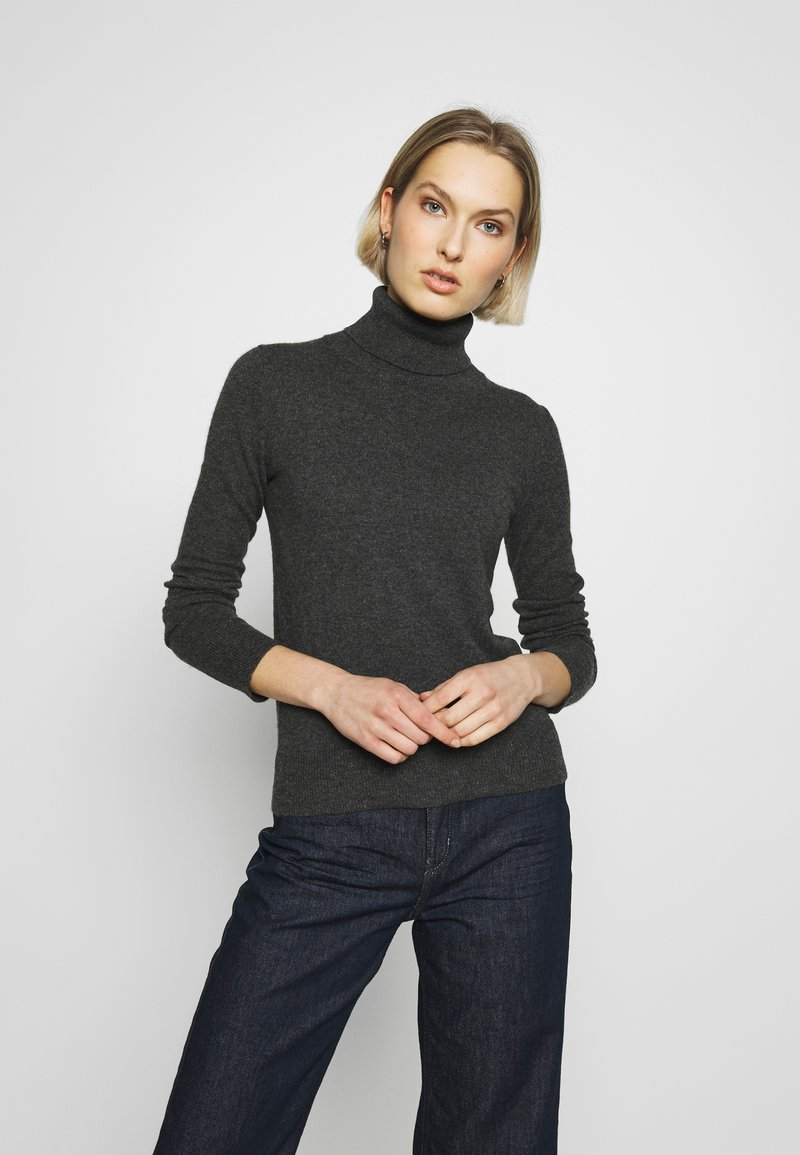 pure cashmere - TURTLENECK - Svetr - graphite