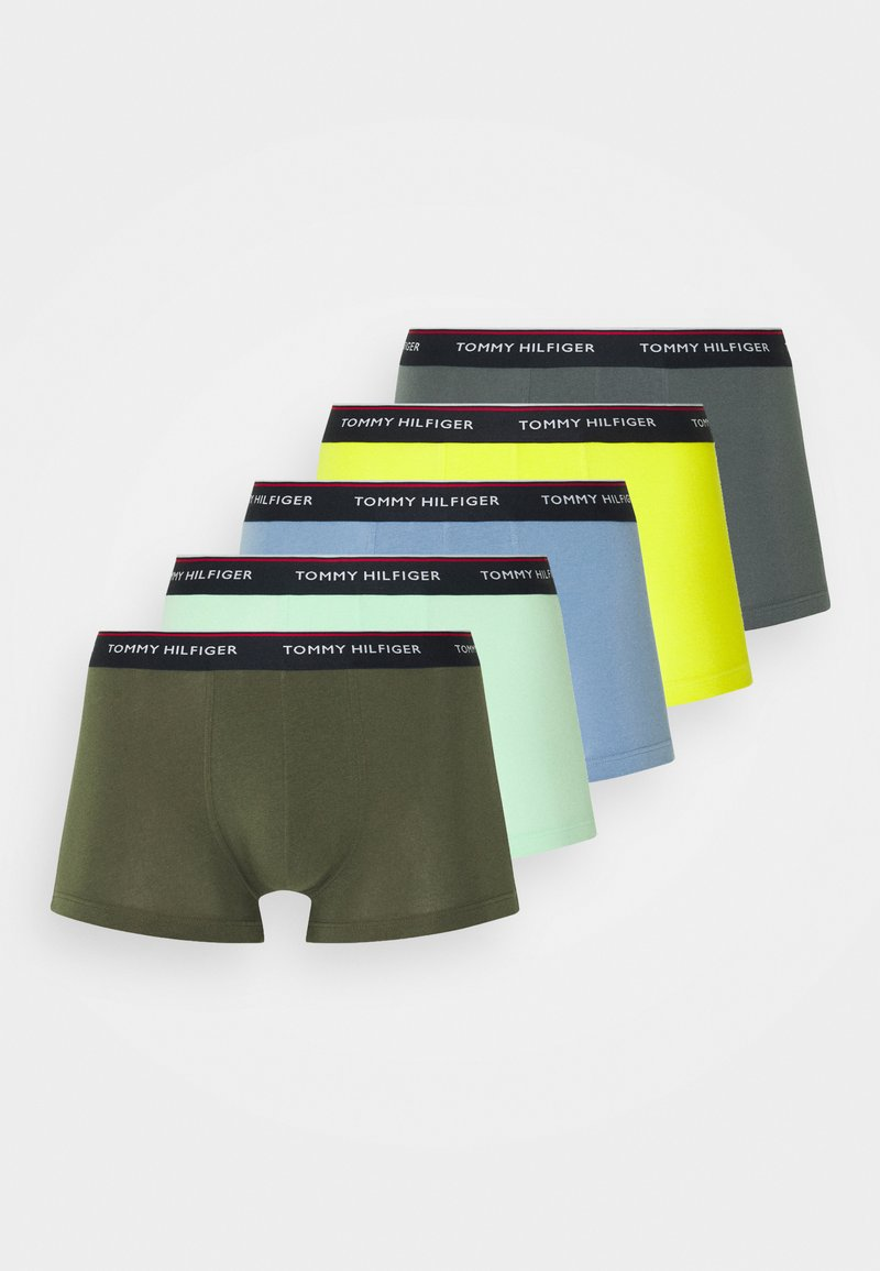 Tommy Hilfiger - TRUNK 5 PACK - Pants - yellow/green/blue
