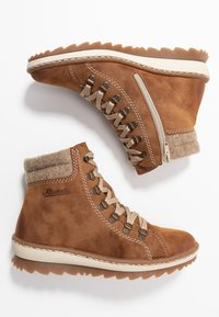 Rieker - Lace-up ankle boots - reh/wood - 3