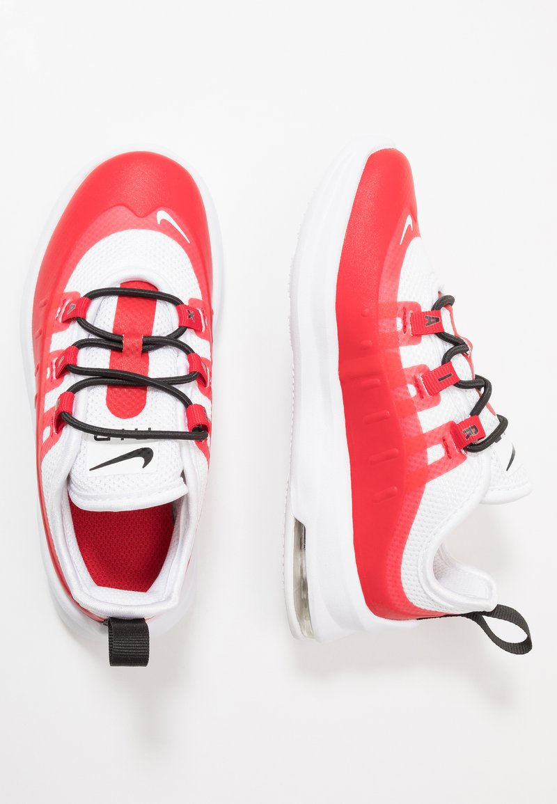 Nike Sportswear - AIR MAX AXIS - Sneakers laag - university red/white/black