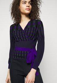 Diane von Furstenberg - EMILY WRAP - Neuletakki - purple/green - 3