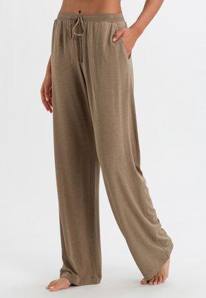 NATURAL ELEGANCE  - Bas de pyjama - khaki melange