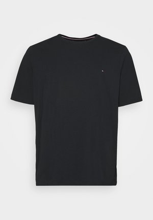 CORE STRETCH CNECK TEE - Jednoduché triko - black