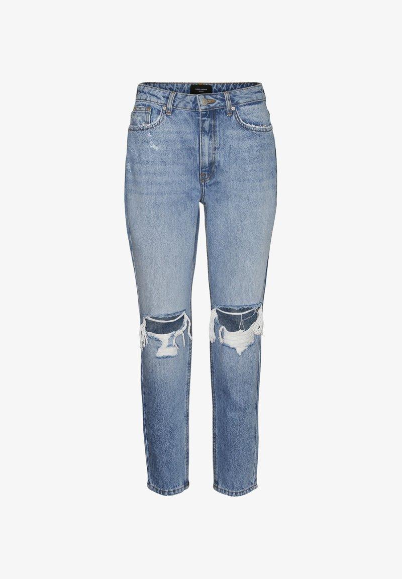 Vero Moda - Straight leg jeans - medium blue denim