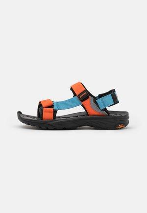 ULA RAFT - Walking sandals - black/airblue/arabesque
