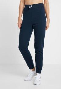 South Beach - REFLECTIVE TOGGLE - Pantalones deportivos - navy - 0