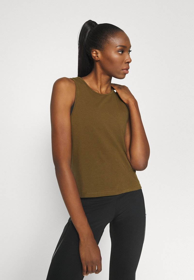Even&Odd active - Top - military olive