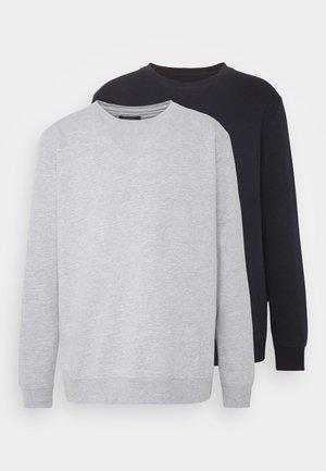 2 PACK CREW  - Sweater - navy