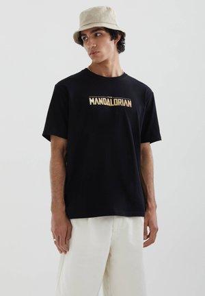THE MANDALORIAN - Print T-shirt - black
