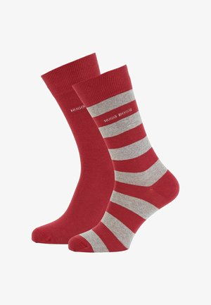 2 PACK - Chaussettes - dark red