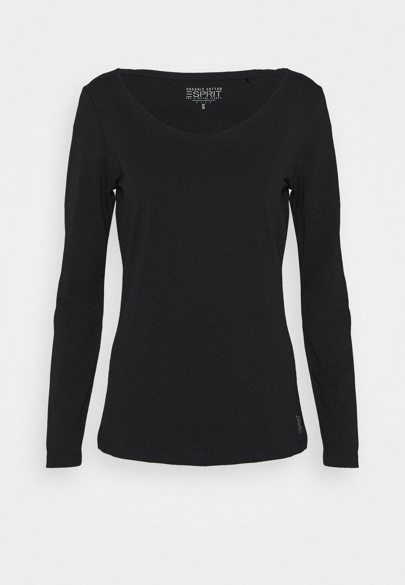 Esprit - CORE NOOS OCS T - Long sleeved top - black