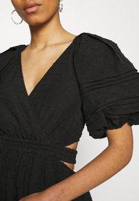 CMEO COLLECTIVE - DISPERSE DRESS - Denní šaty - black - 6