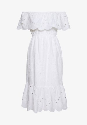 BRODERIE OCCASION DRESS - Kjole - ivory