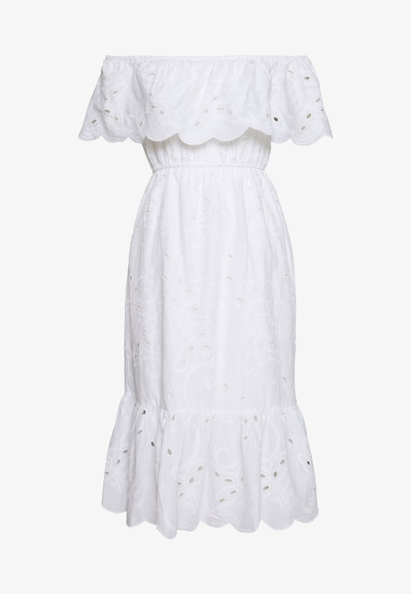 Dorothy Perkins Petite - BRODERIE OCCASION DRESS - Kjole - ivory