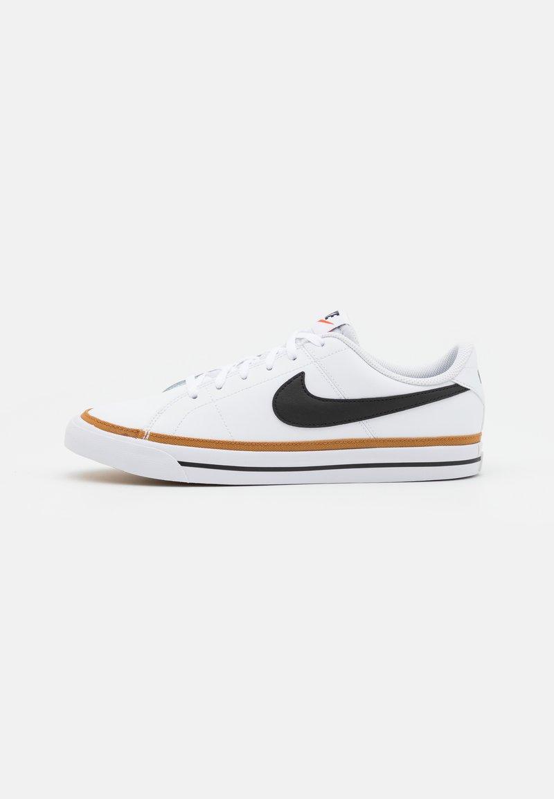 Nike Sportswear - COURT LEGACY UNISEX - Trainers - white/black/desert ochre/light brown