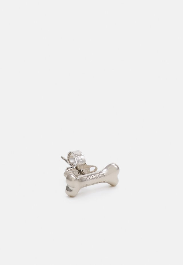 OTHO SINGLE STUD - Boucles d'oreilles - silver-coloured