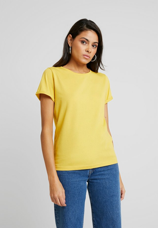 IT MATTERS TEE - Basic T-shirt - yellow