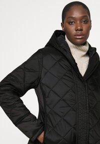 Hunter ORIGINAL - WOMENS REFINED QUILTED JACKET - Light jacket - black - 3