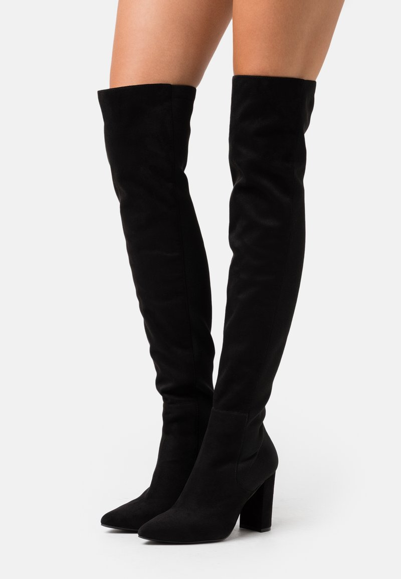 Steve Madden - EVERLEY - High heeled boots - black