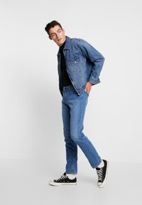 Jack & Jones - JJITIM JJORIGINAL  - Jeans slim fit - blue denim - 1