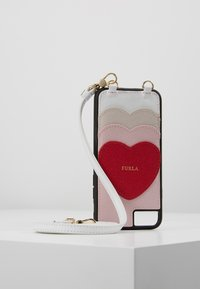 Furla - HIGH TECH HEART - Phone case - camelia/ruby/lino - 0