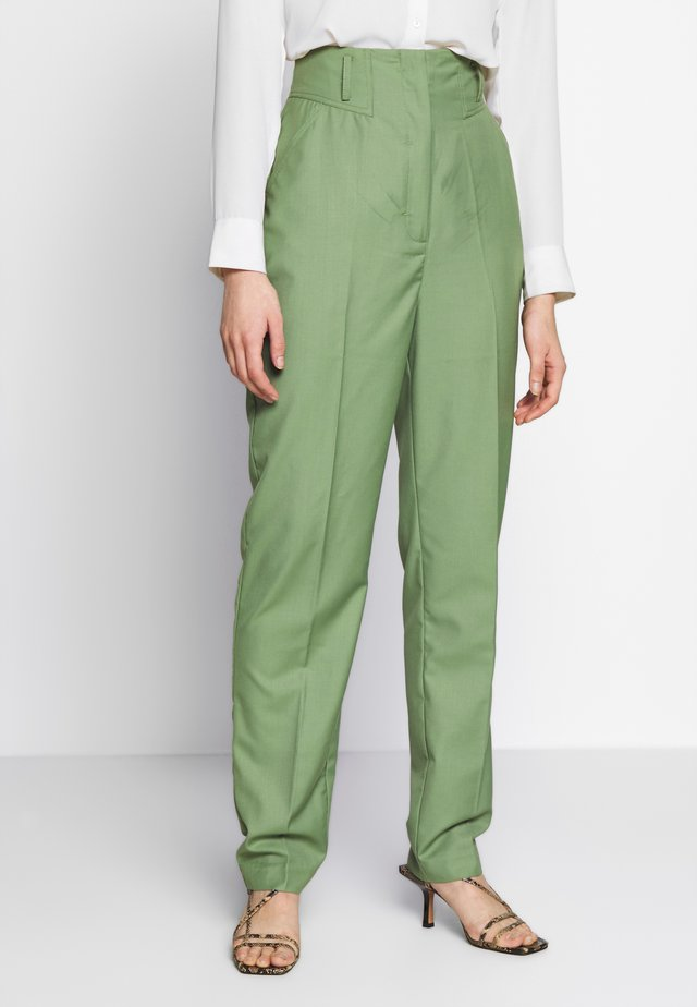 JUST THE SAME PANT - Broek - green