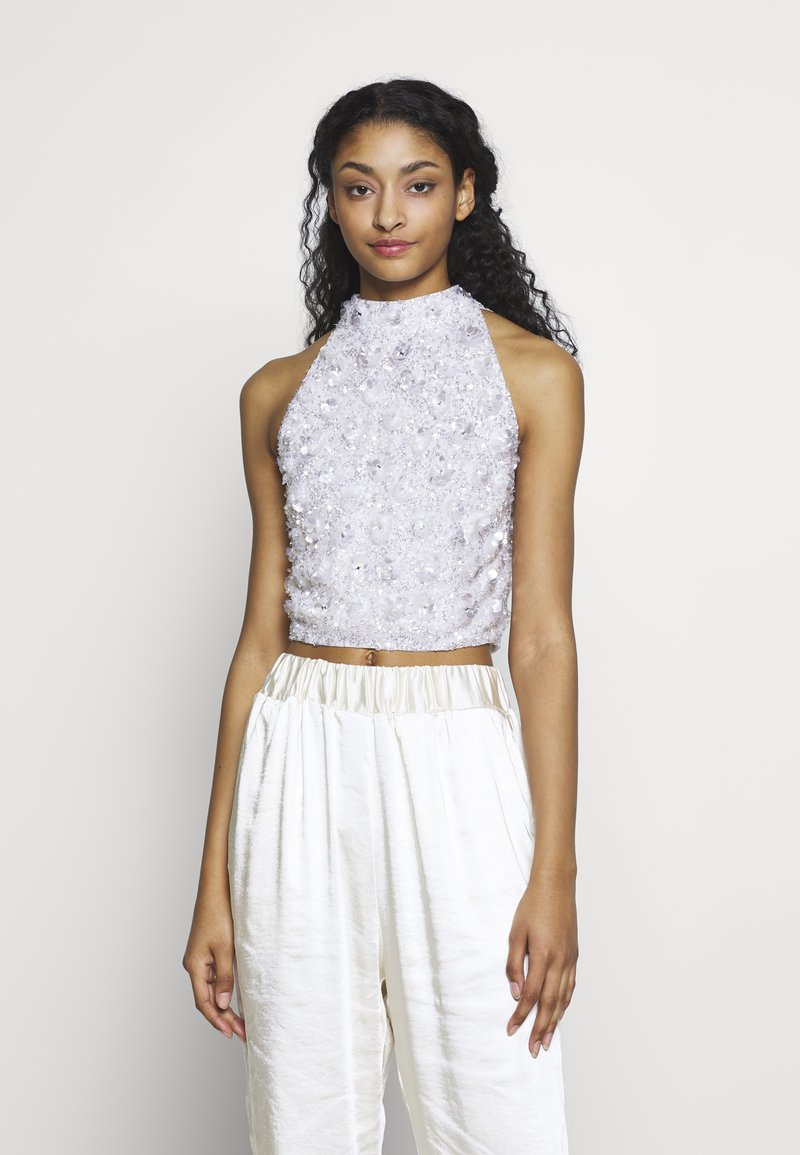 Lace & Beads - GUI - Bluser - white