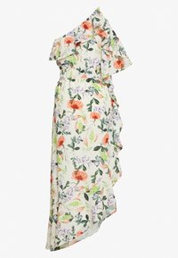 Lost Ink - ONE SHOULDER PRINTED - Robe d'été - multi - 1