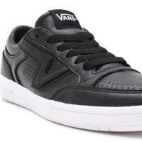 Vans - UA LOWLAND CC - Trainers - (leather) black/true whit - 6