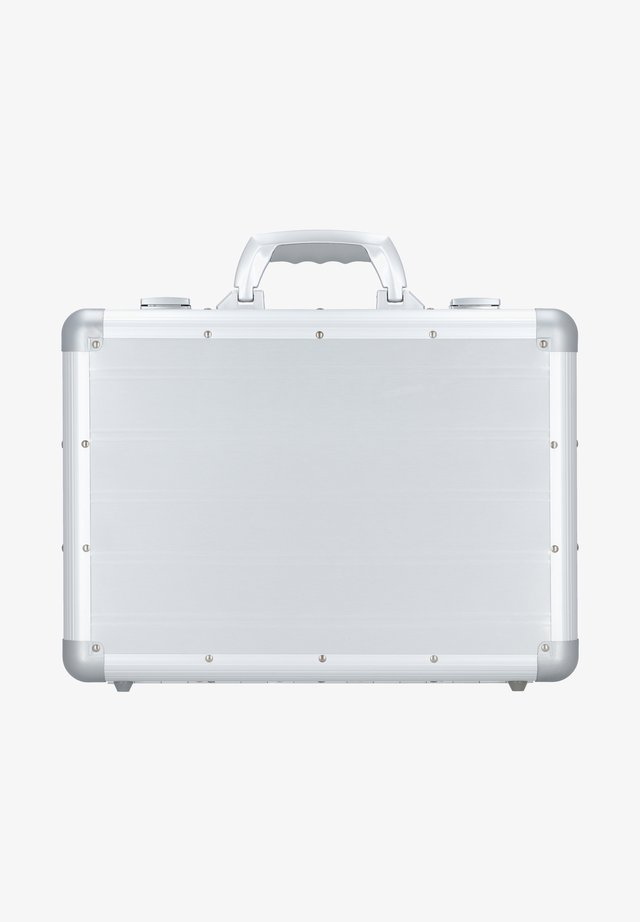 Briefcase - silver-coloured
