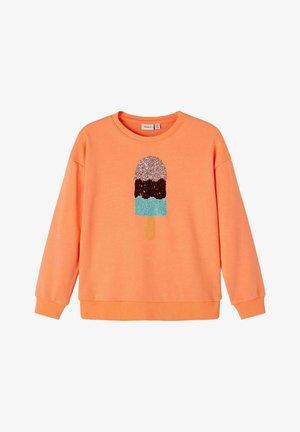 Sweatshirt - cantaloupe