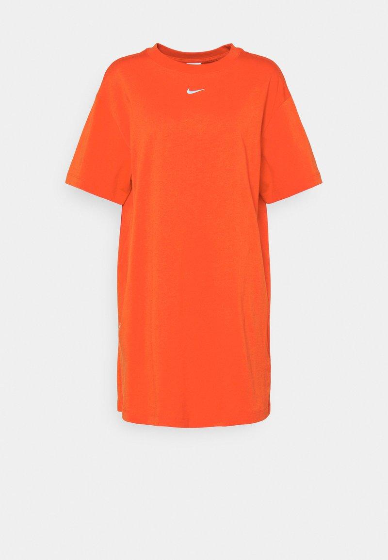 Nike Sportswear - Vestido ligero - chile red/white