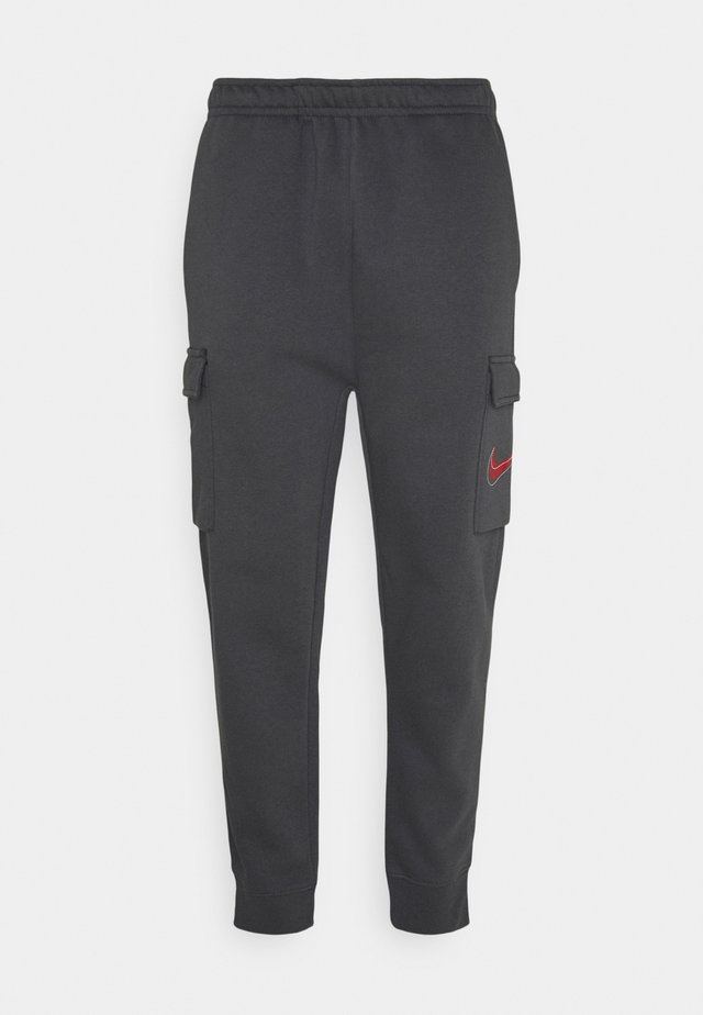 COURT PANT - Cargo trousers - anthracite