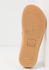 Reef - ORTHO-BOUNCE - Sandály s odděleným palcem - vintage white - 4