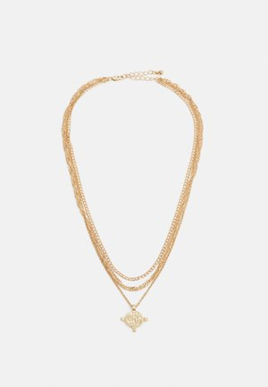 PCVILLA COMBI NECKLACE - Necklace - gold-coloured