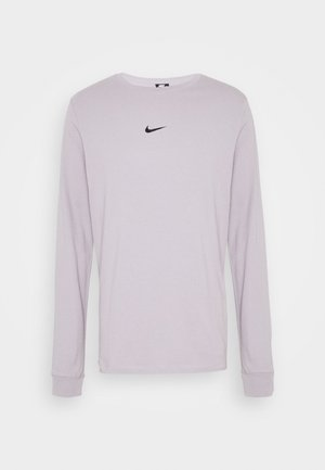 Long sleeved top - silver lilac
